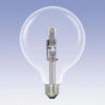 Ampoule globe halogène 28 watt diamètre 125 mm culot e27
