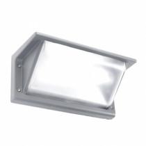 Luminaire d'extérieur, applique gamme curie petit modèle gris