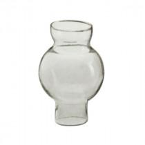 verrerie lampe à pétrole type pigeon griff 33 mm clair