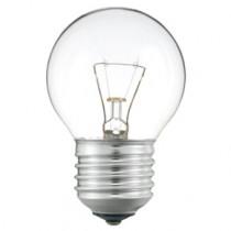 Ampoule incandescente pour four 300°c, sphérique culot e27 40 watt
