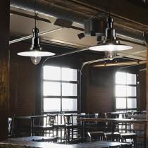 Suspension FIORDI ø 40 luminaire de IDEAL LUX 1 lumière, lustre design, finition au choix