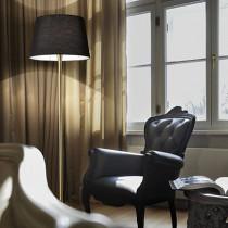 Lampe haute LONDON ø 50 luminaire de IDEAL LUX 1 lumière, création design, finition au choix