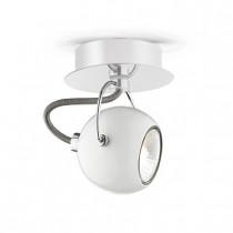 Applique LUNARE ø 11 luminaire de IDEAL LUX 1 spot, création design