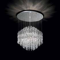 Suspension MAJESTIC luminaire de IDEAL LUX 10 lumières, lustre design, finition au choix