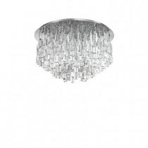 Plafonnier MAJESTIC luminaire de IDEAL LUX 10 lumières, lustre design, finition au choix