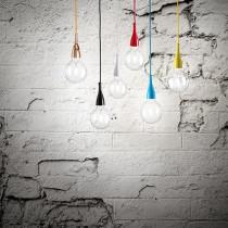 Suspension MINIMAL luminaire de IDEAL LUX 1 lumière, lustre design, coloris au choix