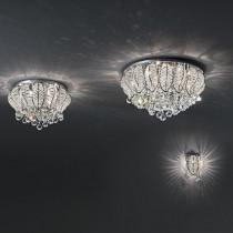 Plafonnier MOZART ø 58 luminaire LED de IDEAL LUX 9 lumières, création design