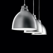 Suspension NAVY ø 26 luminaire de IDEAL LUX 1 lumière, lustre design, finition au choix
