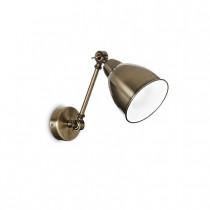 Applique NEWTON Ø 26 luminaire de IDEAL LUX 1 lumière, création design, finition au choix