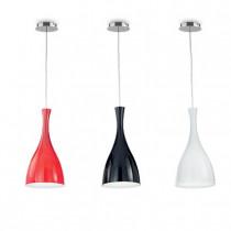 Suspension OLIMPIA ø 10 luminaire de IDEAL LUX 1 lumière, lustre design coloris au choix