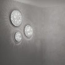 Plafonnier ORION luminaire de IDEAL LUX 12 lumières, lustre design Chrome Or