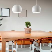 Suspension PANDORA ø 25 luminaire de IDEAL LUX 1 lumière, lustre design, finition au choix