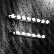 Applique PRIVE luminaire de IDEAL LUX 8 lumières, création design, coloris au choix
