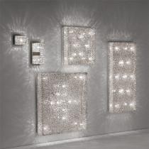 Plafonnier QUADRO luminaire de IDEAL LUX 11 lumières, lustre design