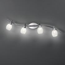 Plafonnier SOFFIO luminaire de IDEAL LUX 4 spots, création design