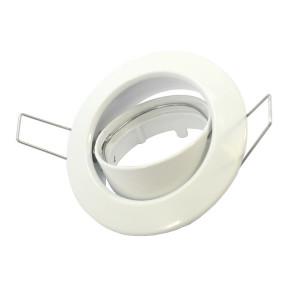 spot encastrable orientable rond blanc
